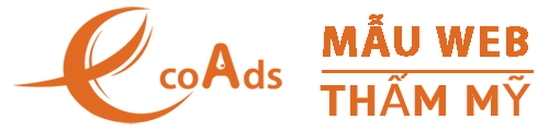 Mẫu website spa – EcoAds